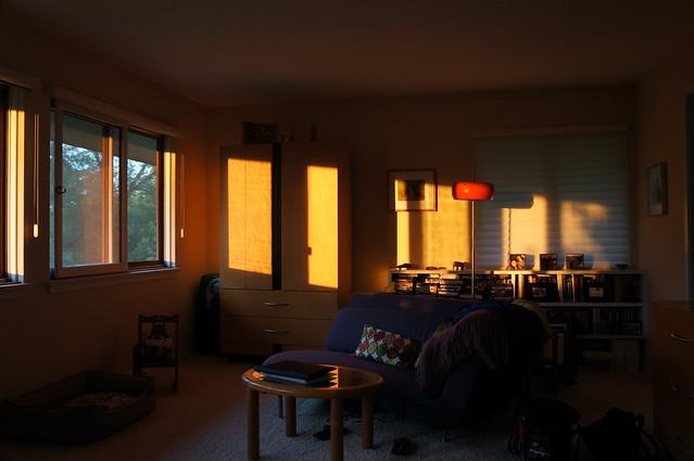 magical morning light
