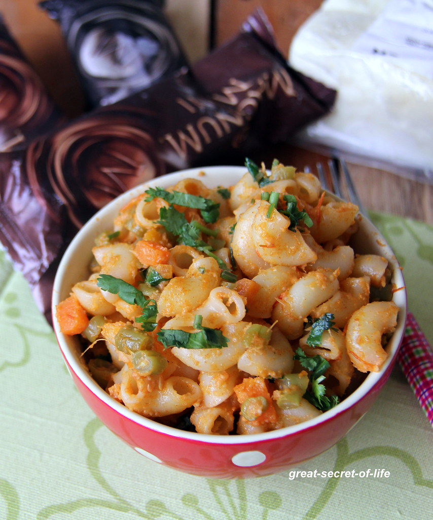 Paneer Macaroni Macaroni With Indian Cottage Cheese Paneer Pasta Simple Kids Friendly Meal Great Secret Of Life Tasty Recipes
