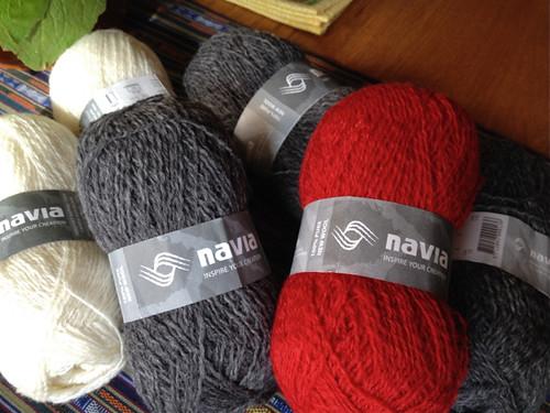 Navia yarns