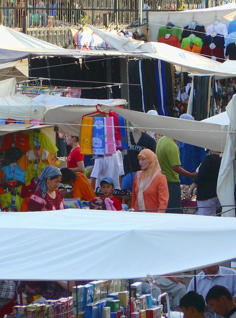 Le bazaar de Tashkent