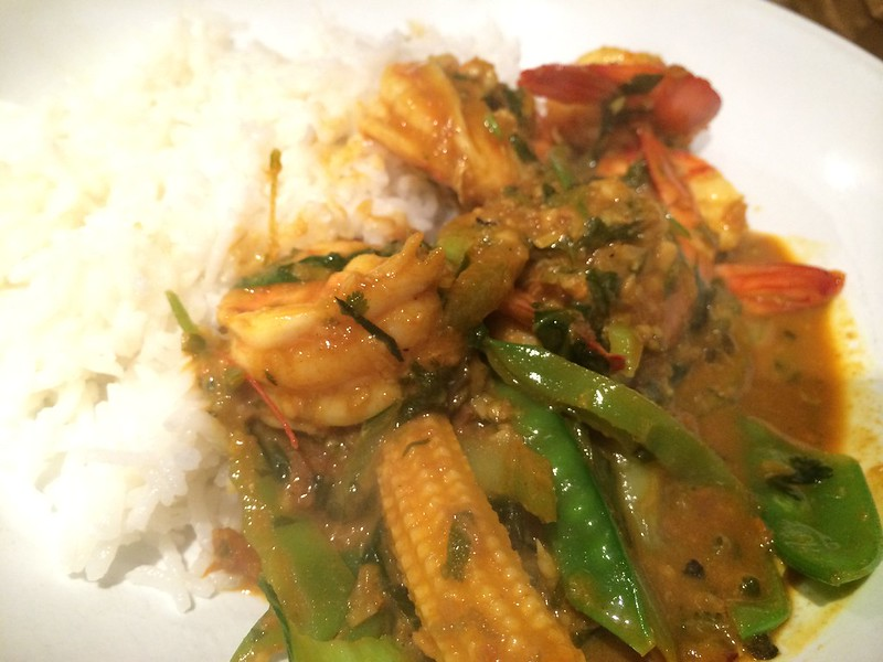 Red Thai Prawn Curry : Eat immiediately