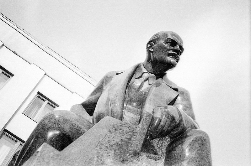 Lenin in Soviet Square