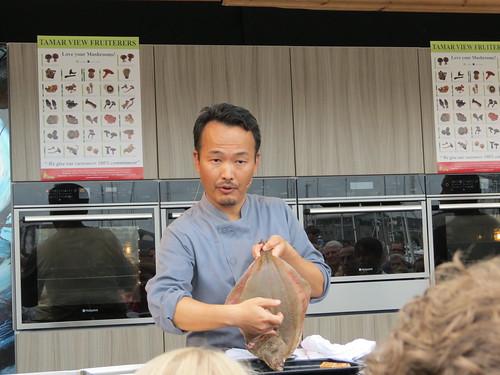 Yoshinori Ishii from Umu restaurant