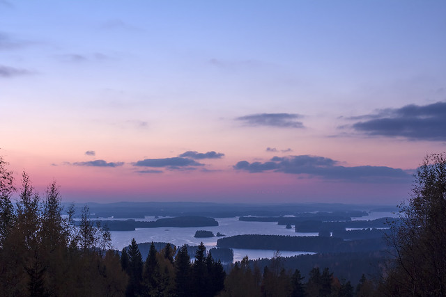 Sunset in Kuopio
