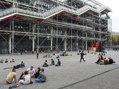 Centre Pompidou @ Beaubourg @ Paris