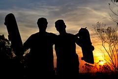 Eu e o Felipe, Por do sol pesado, SBC - SP