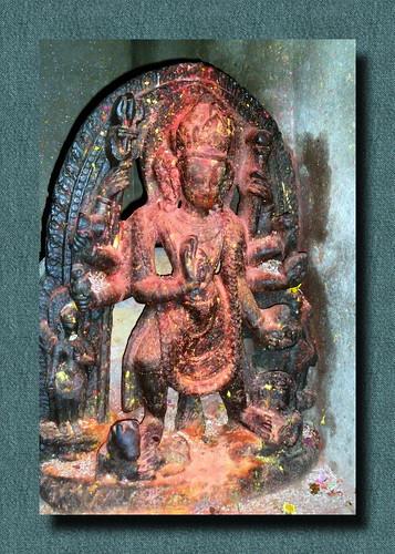 Nepal - Kathmandu - Statue - 108