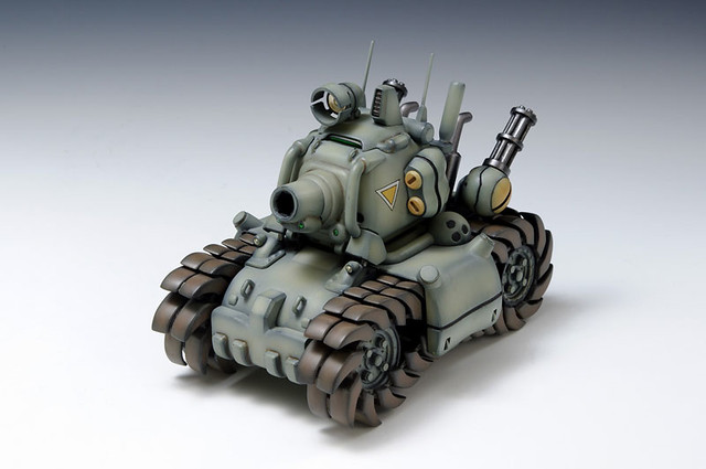 WAVE《越南大戰》Metal Slug 戰車 1/24 組裝模型