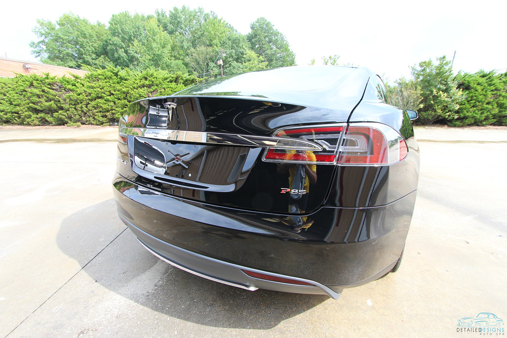 Tesla Model S Clear Bra Installation Atlanta