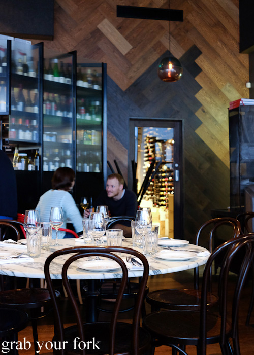 Dining room at Cumulus Up, Melbourne