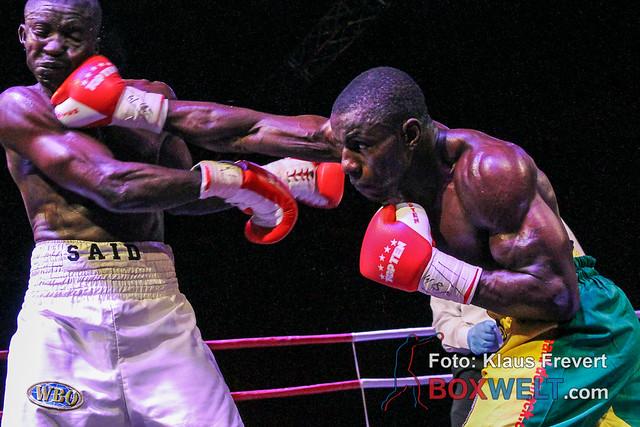 Bernard Donfack vs Said Mbelwa