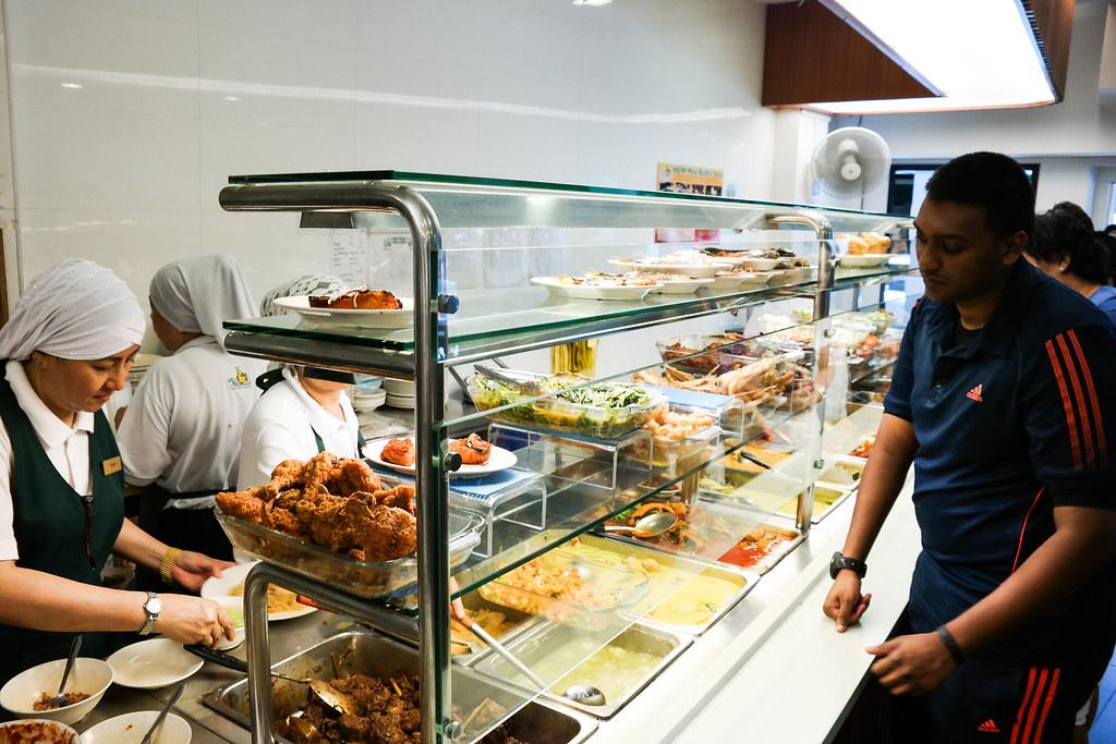 Hajah Maimunah Restaurant Interior