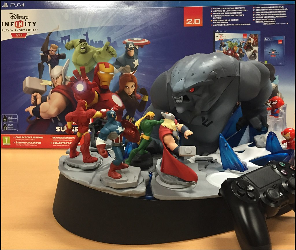 Disney Infinity 2.0 unboxing