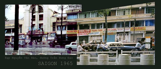 SAIGON 1965 - Rạp Nguyễn Văn Hảo đường Trần Hưng Đạo