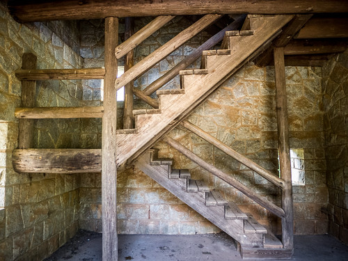 Rock Eagle Tower Stairs