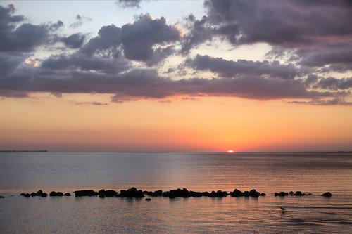 ocean sunset unitedstates florida sunshineskywaybridge landscapephotography terraceia manateecounty
