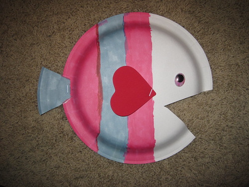 Paper Plate Fish (by Ace)