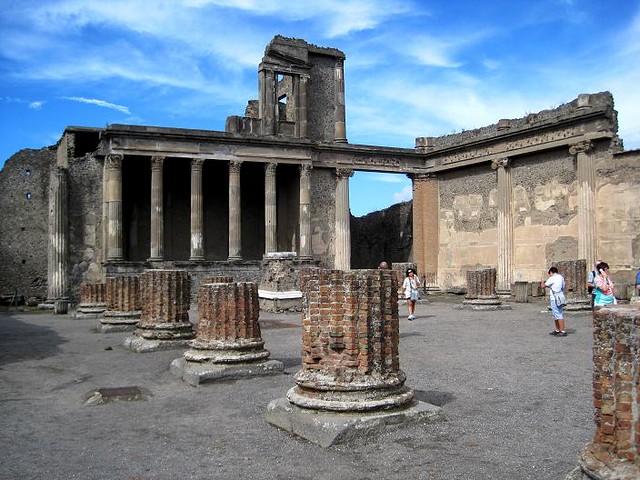 El volcán que destruyó Pompeya