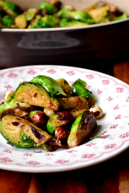 Christmas Brussels Sprouts Recipe