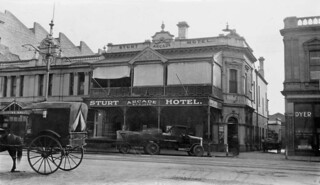 Sturt Arcade Hotel, Grenfell Street, 1924