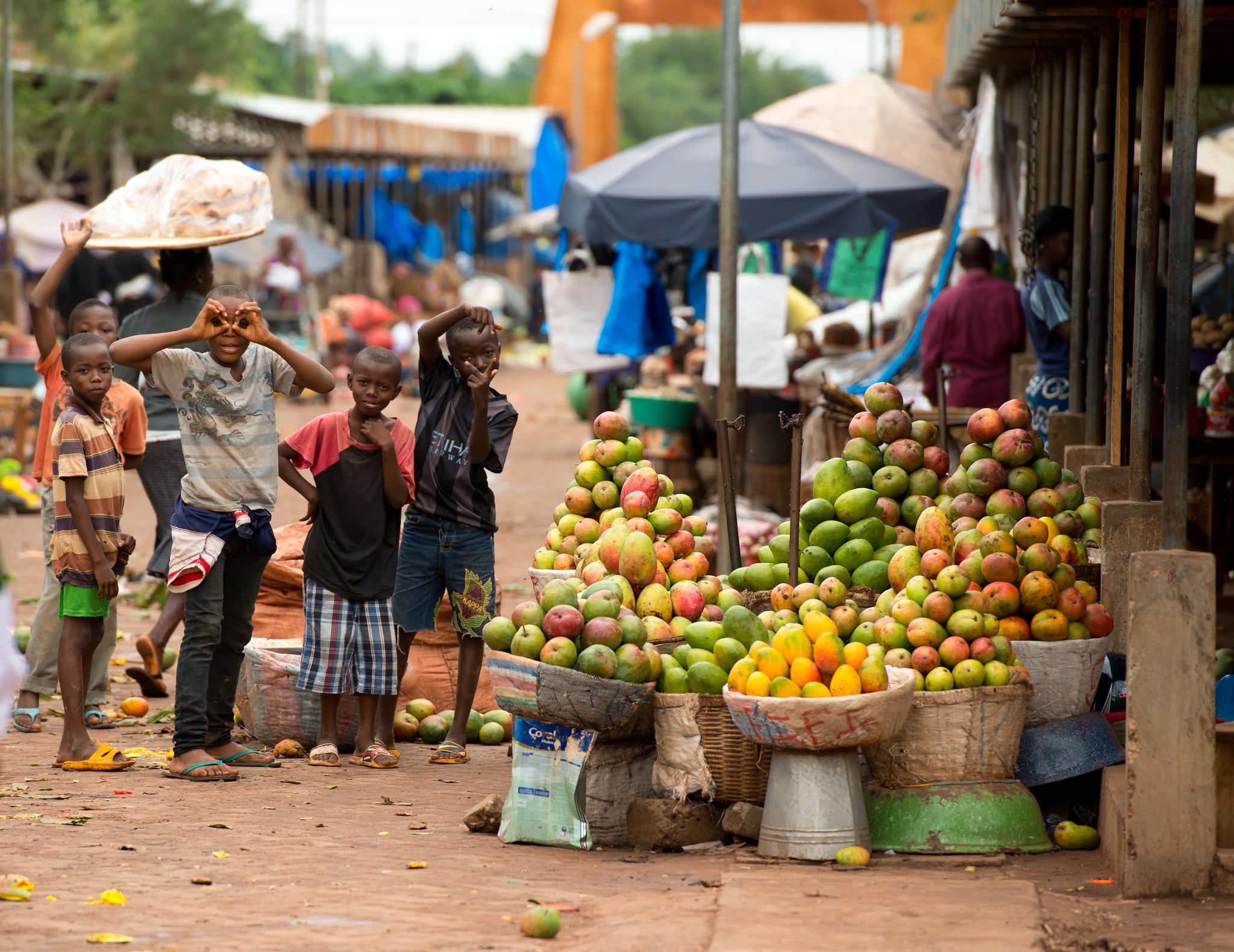 Market Children
