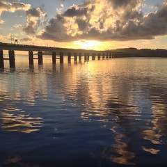 The #RiverTay this morning... #Dundee #Riverside #Sunrise