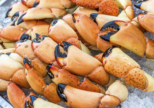 Four Seasons Palm Beach stone crabs claws