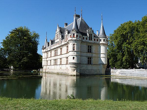 le château sur l'eau