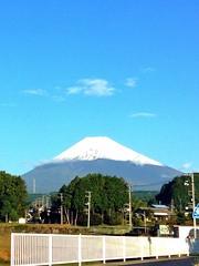 Mt.Fuji 10/16/2014 初冠雪