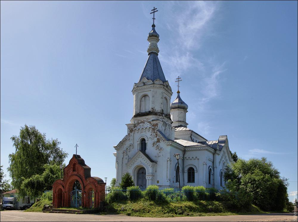 Иказнь, Церковь св. Николая