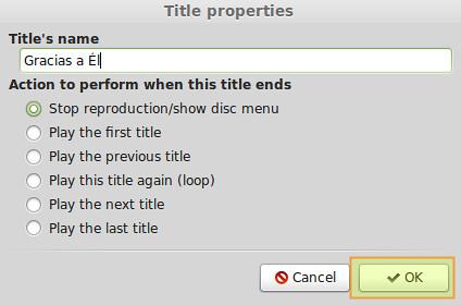 Como criar um DVD de Múltiplos Vídeos no desktop Linux