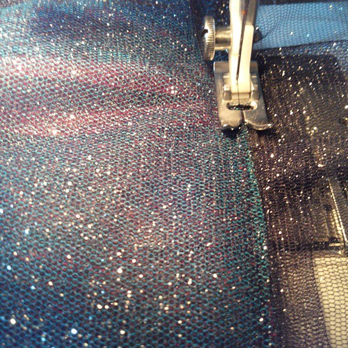 Sparkling sparkly #tutu is full of sparkles... #sewing #costumes #halloween