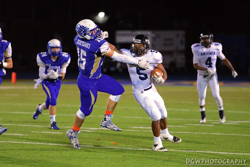 Newtown High vs. Ansonia High - High School Football