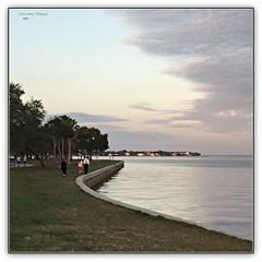 a walk along the water's edge...