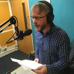"Hendrik Huthoff singing live vocals to the instrumental 7"" vinyl B-side of Barry White's 'Can't Get Enough Of Your Love Babe' on The deXter Bentley Pay-As-You-Go Hello GoodBye Show Resonance 104.4 FM #FUNDRAISER on Saturday 18th February 2017"