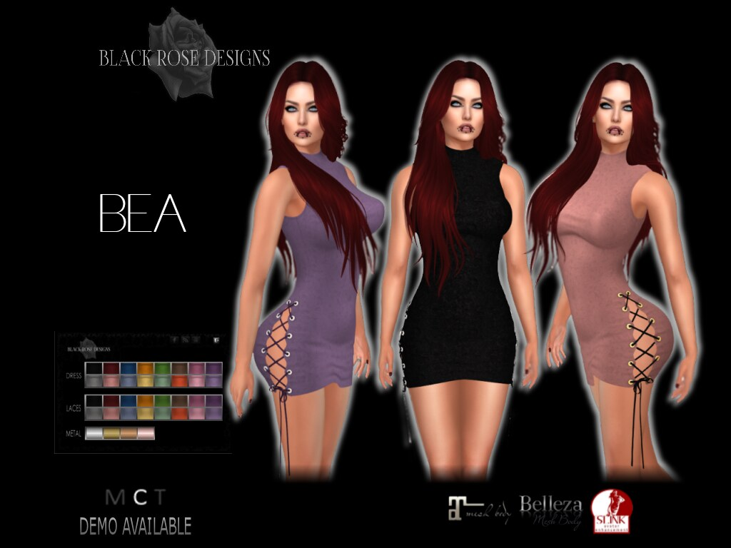 [[BR]] BEA DRESS - SecondLifeHub.com