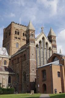 Image of St Albans Cathedral. stalbanscathedral cathedral stalbans hertfordshire england uk abbey stalbansabbey stalban