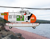 Another chopper covered a shoreline ©Jack Boardman