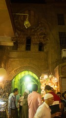 Another Khan El-Khalili gate , another Bab