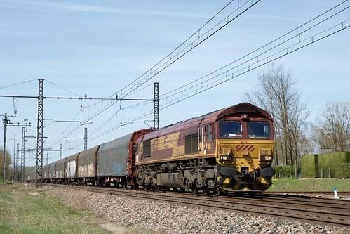 Class 66032 ECR et fret