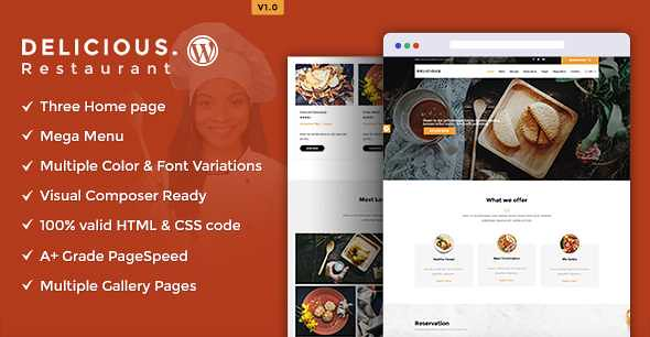 Delicious WordPress Theme free download