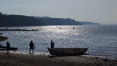 Skiffs arrive at Balmerino