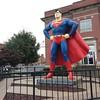 Superman living large in Metropolis.