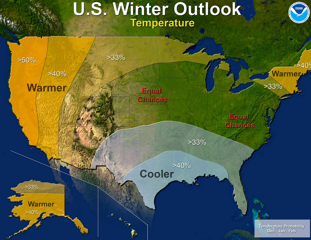NOAA winter forecast 2014-15