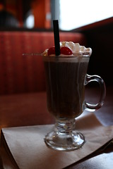coffee, drink, irish coffee, milkshake,