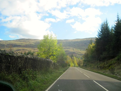 Inverness to Fort William, Past Loch Ness