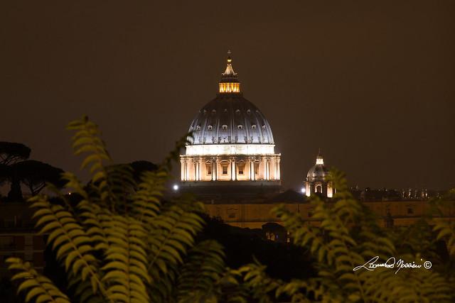 San Pietro night