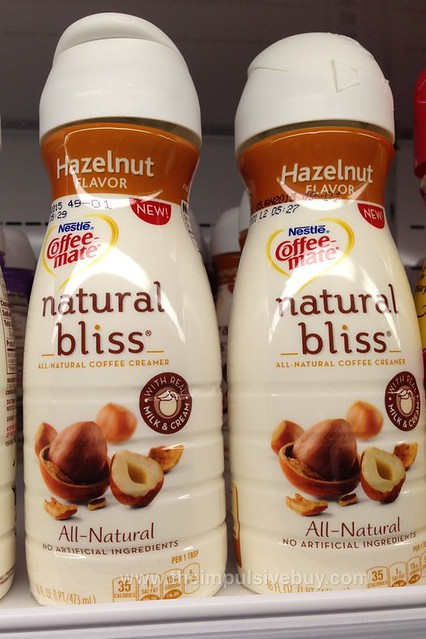 Nestle Coffee-mate Hazelnut Natural Bliss