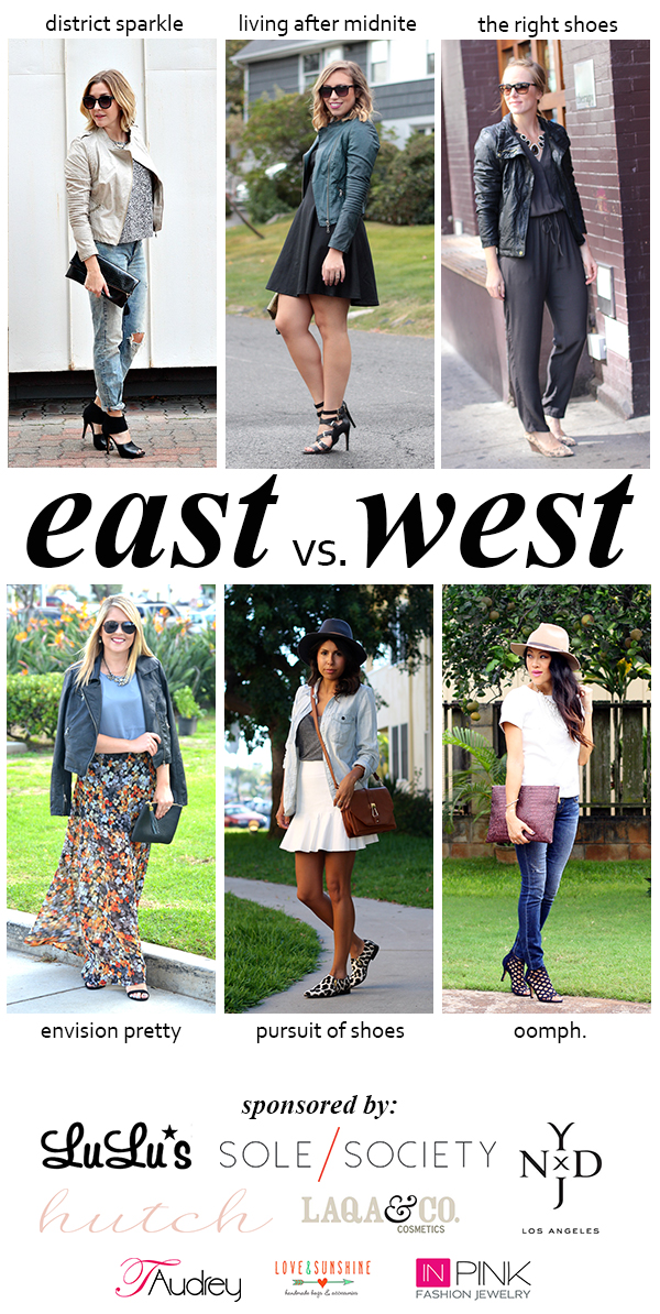 Leather | East vs. West Style | Outfit | #LivingAfterMidnite