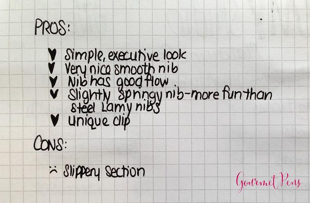 Review: Lamy Studio Platinum Grey Fountain Pen - 14K Fine @Lamy @LamyUSA